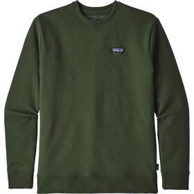 Patagonia P-6 Label Uprisal Sweat-shirt manches longues à col ras-du-cou Homme, nomad green
